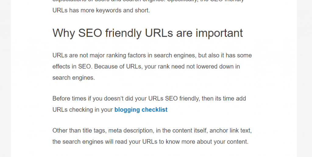 anchor text for internal linking seo