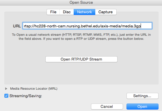 Recording a Network Stream with VLC Player - Teaching and Learning