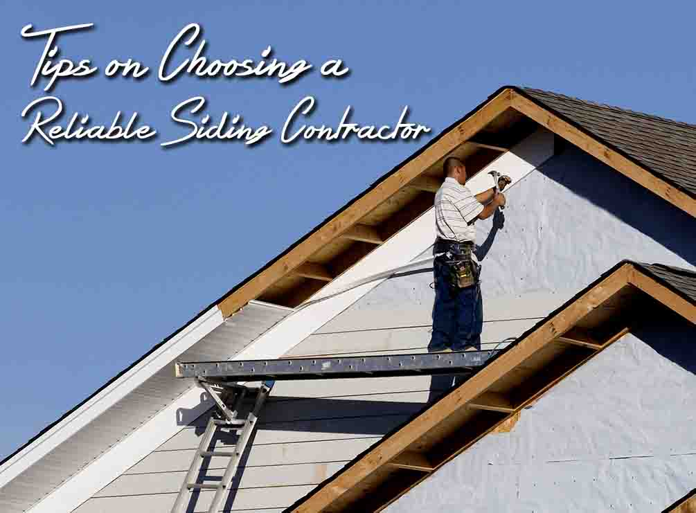 Reliable Siding Contractor