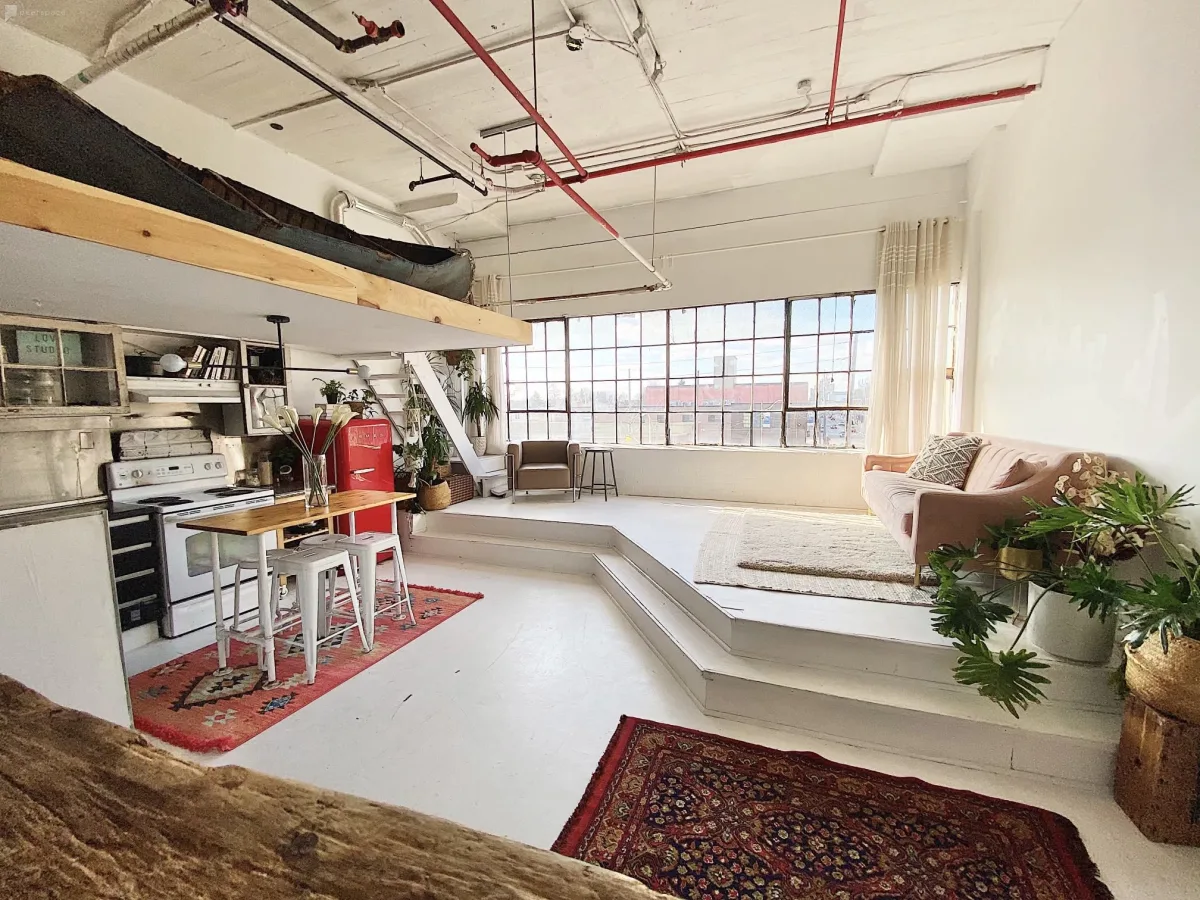 renovated loft in toronto