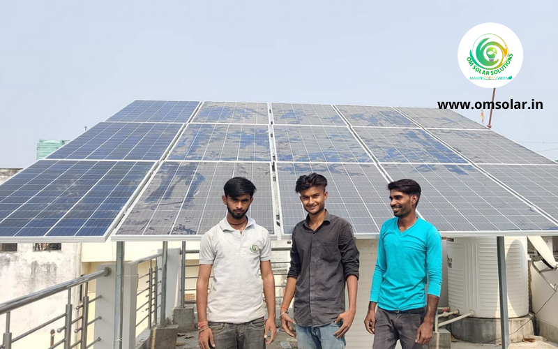 5 KW On-Grid Solar Power in Lucknow