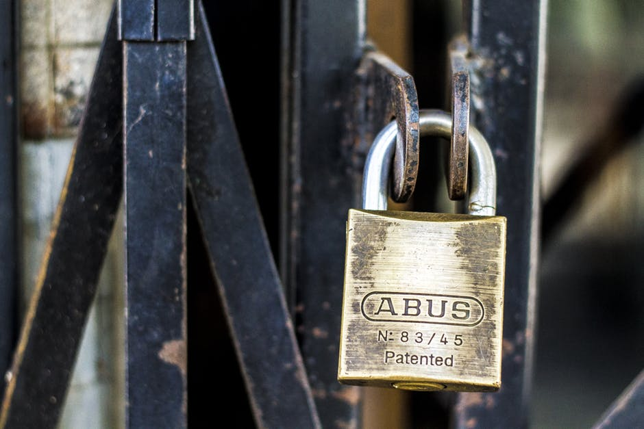abus, brand, close-up