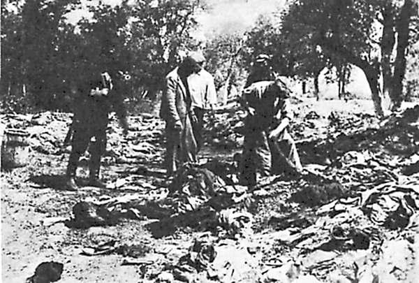 Бережаны летом 1941 года