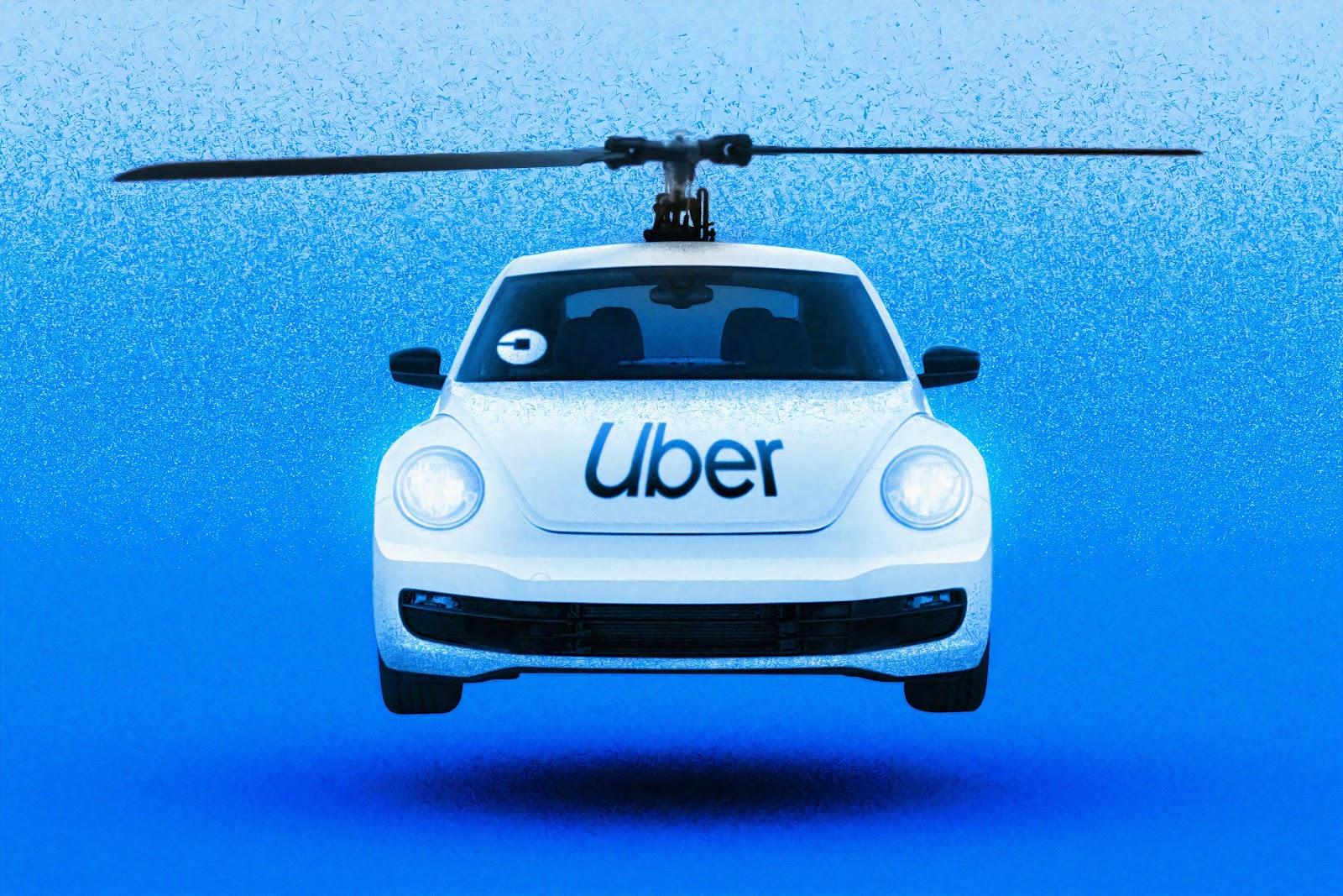 uber taxi voador