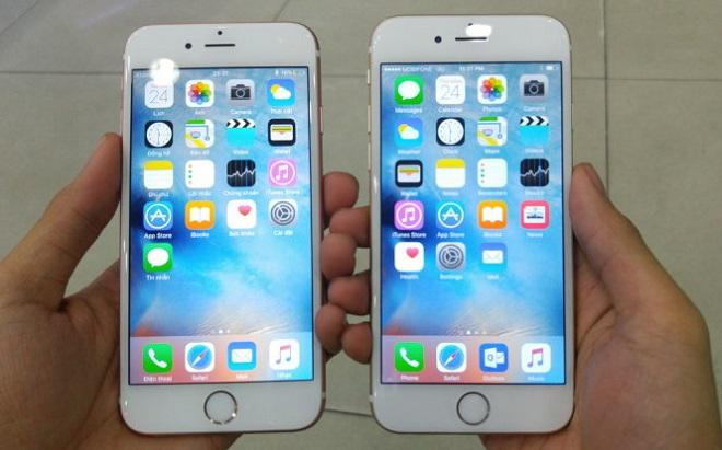 So sánh iPhone 6s và 6s plus về cấu hình
