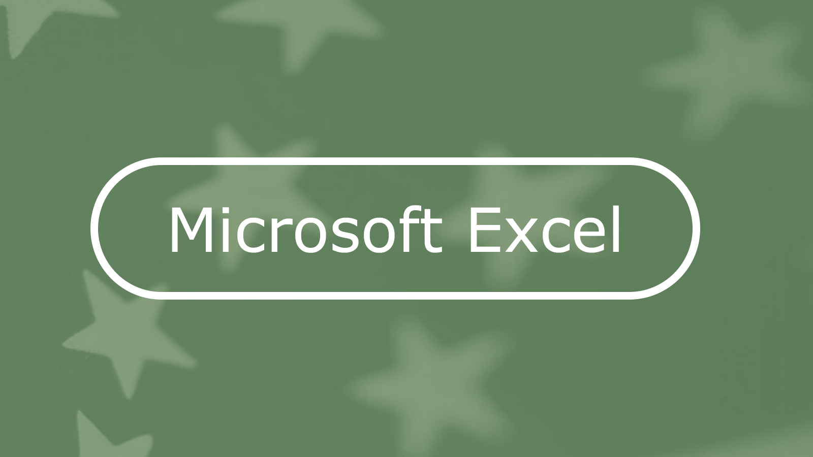 How to Make an Accessible Spreadsheet in Microsoft Excel