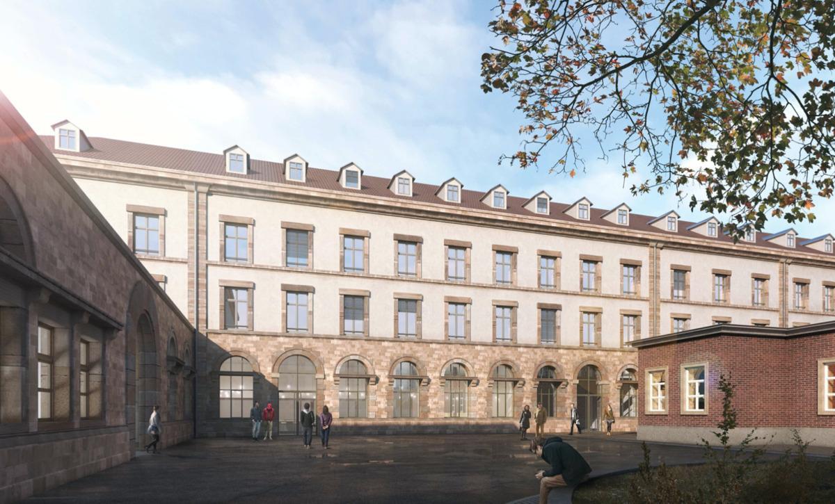 Réhabilitation manufacture des tabacs à Strasbourg