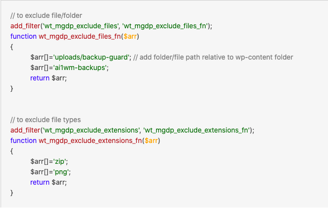 Adding filter `wt_mgdp_exclude_files`