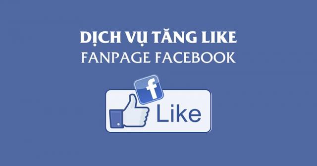 Dịch vụ tăng like facebook giúp tăng lượt like nhanh chóng