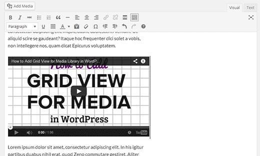 WordPress 4.0 - текстовый редактор