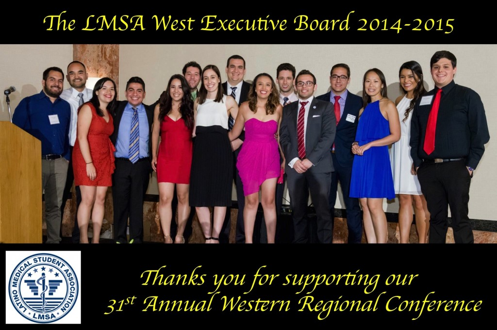 LMSA West E-board 2014-2015_Thank You_Conference