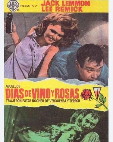 Días de vino y rosas (1962, Blake Edwards)