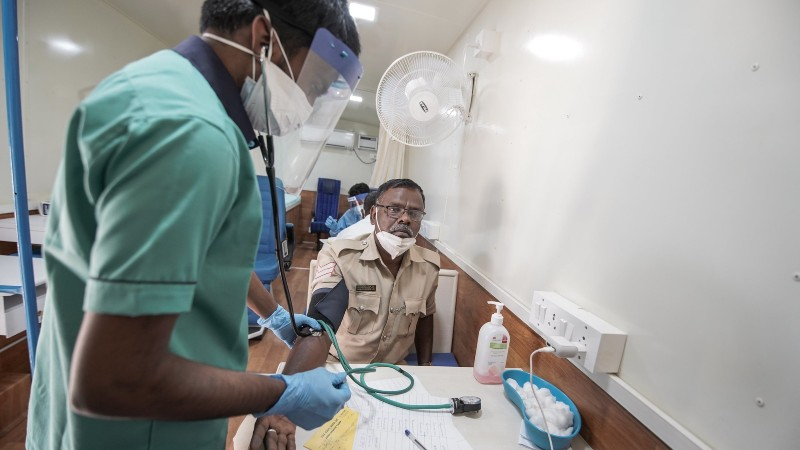 Shortage of health care workers plagues India's fight against COVID-19