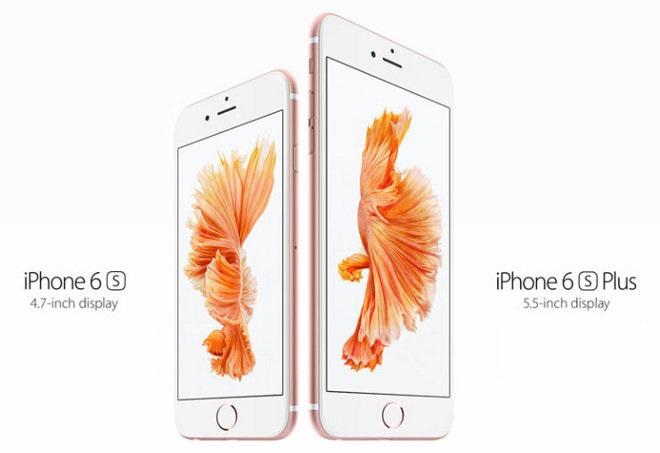 so sánh điện thoại iPhone 6 vàiPhone 6 Plus