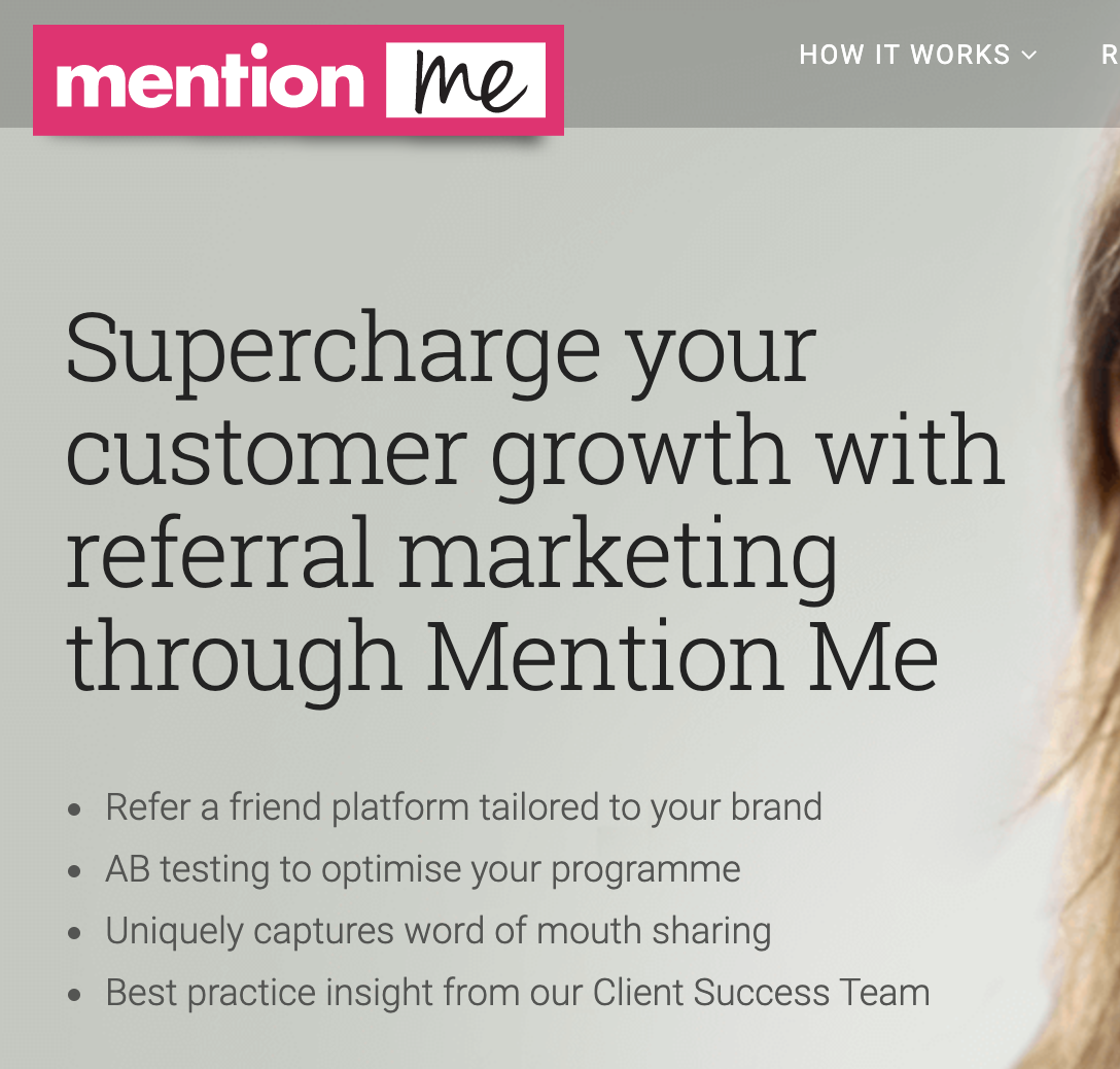 Mention Me - Referral Marketing Platform