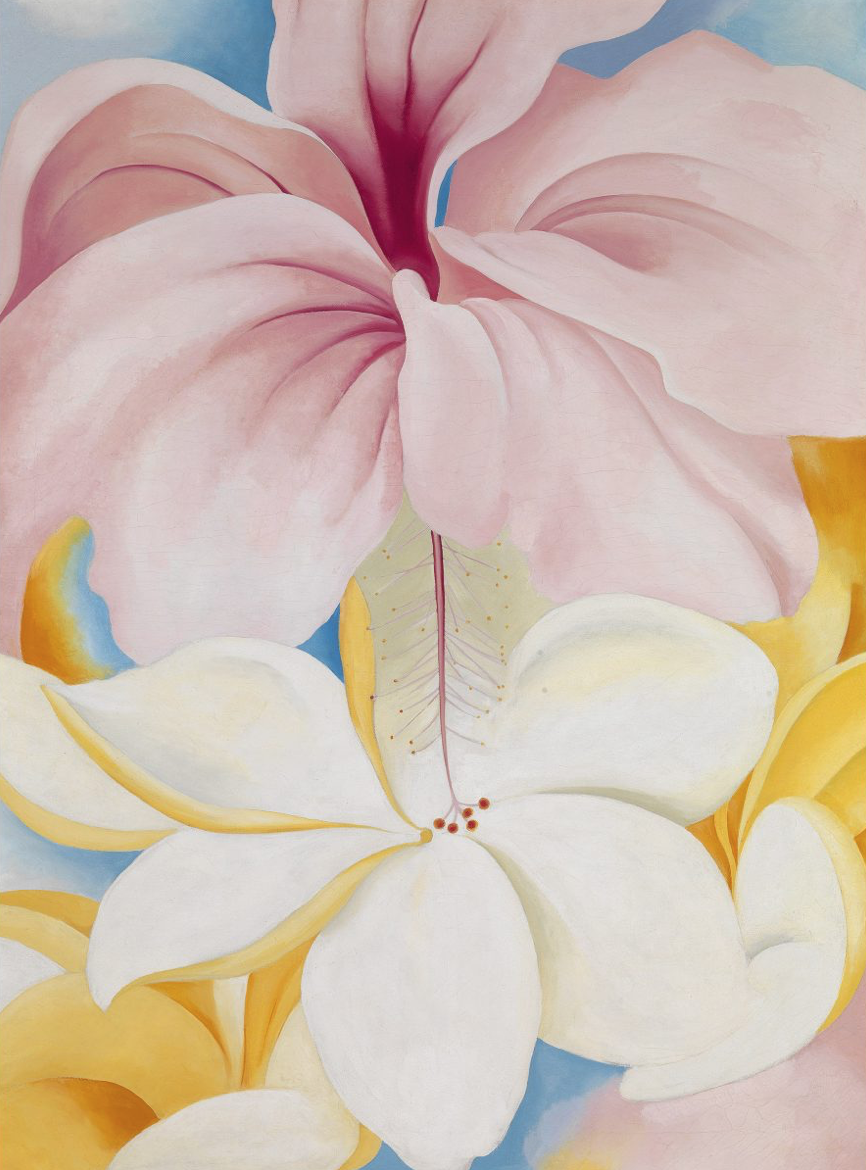 Say ALOHA! to the New York Botanical Garden Conservatory Ball as it celebrates Georgia O'Keeffe:  Visions of Hawai'i  with a fantastic luau themed event.Paintings  in Hawaii Georgia O'Keeffe 1939