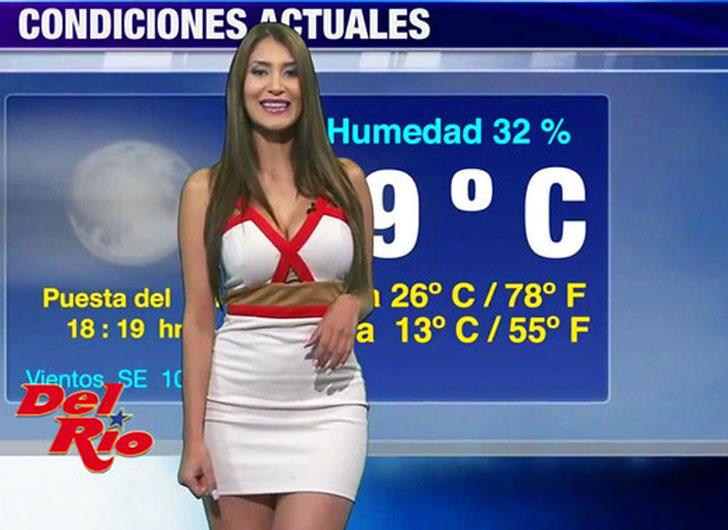 Diana Alvarado from Canal 44,