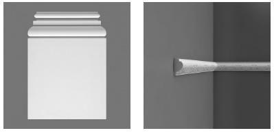 в интерьере квартиры использование лепнины в виде декоративных элементов Orac Decor