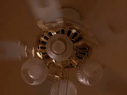 Setting the Stage - Ceiling Fan at the Palmer House - Twin Peaks Blog