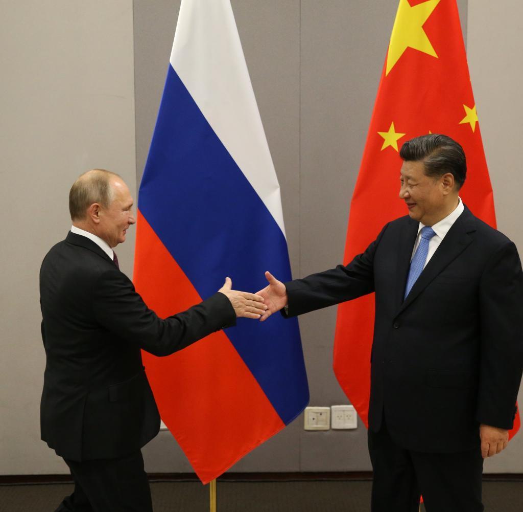 ladimir Putin und Xi Jinping (v.l.): Annäherungskurs mit Schwierigkeiten