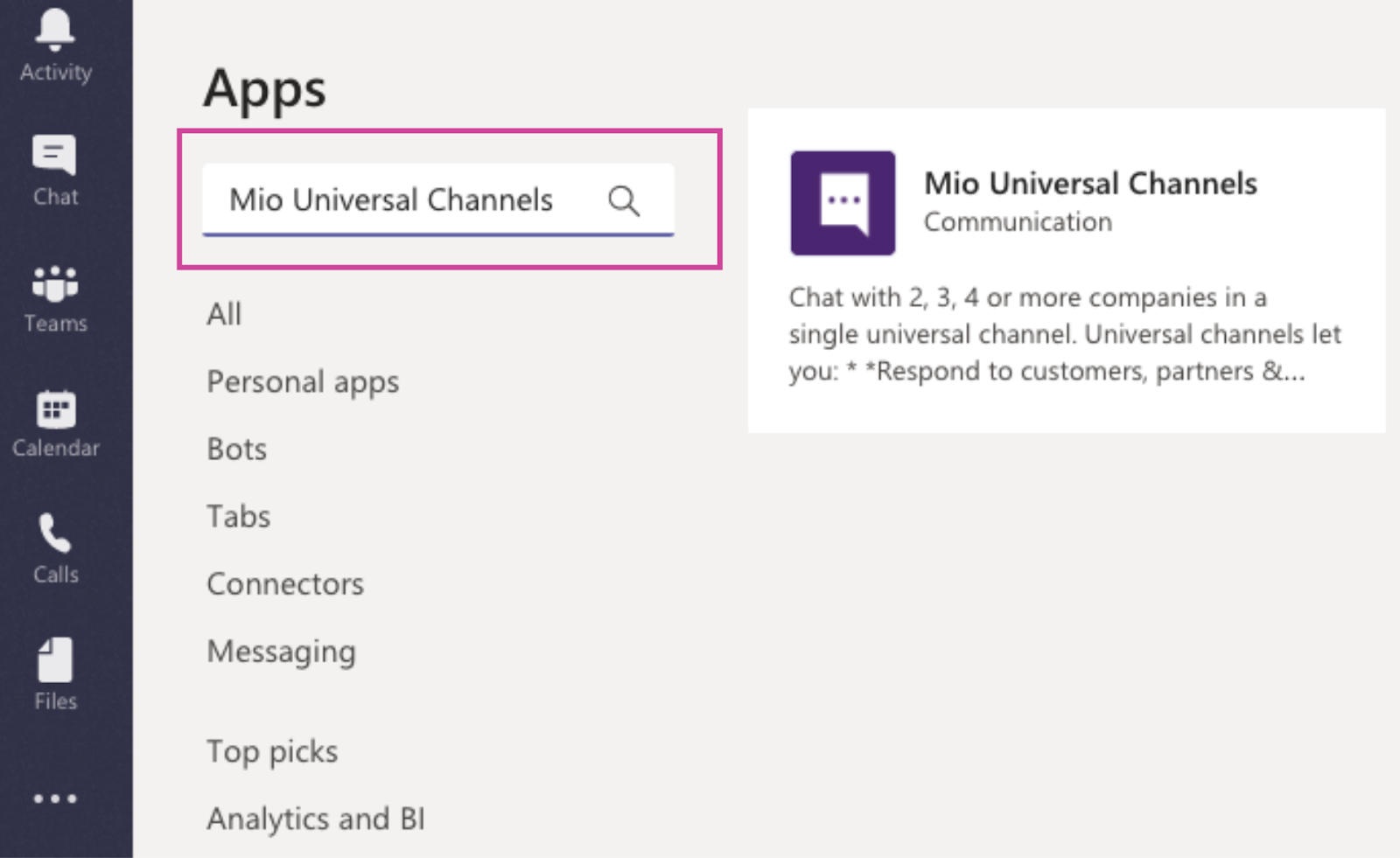 Microsoft Teams best practices: setup a universal channel to talk to Slack users
