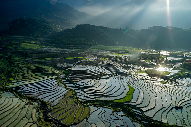 Saigonfreedaytours sapa landscapes beautiful travel Vietnam