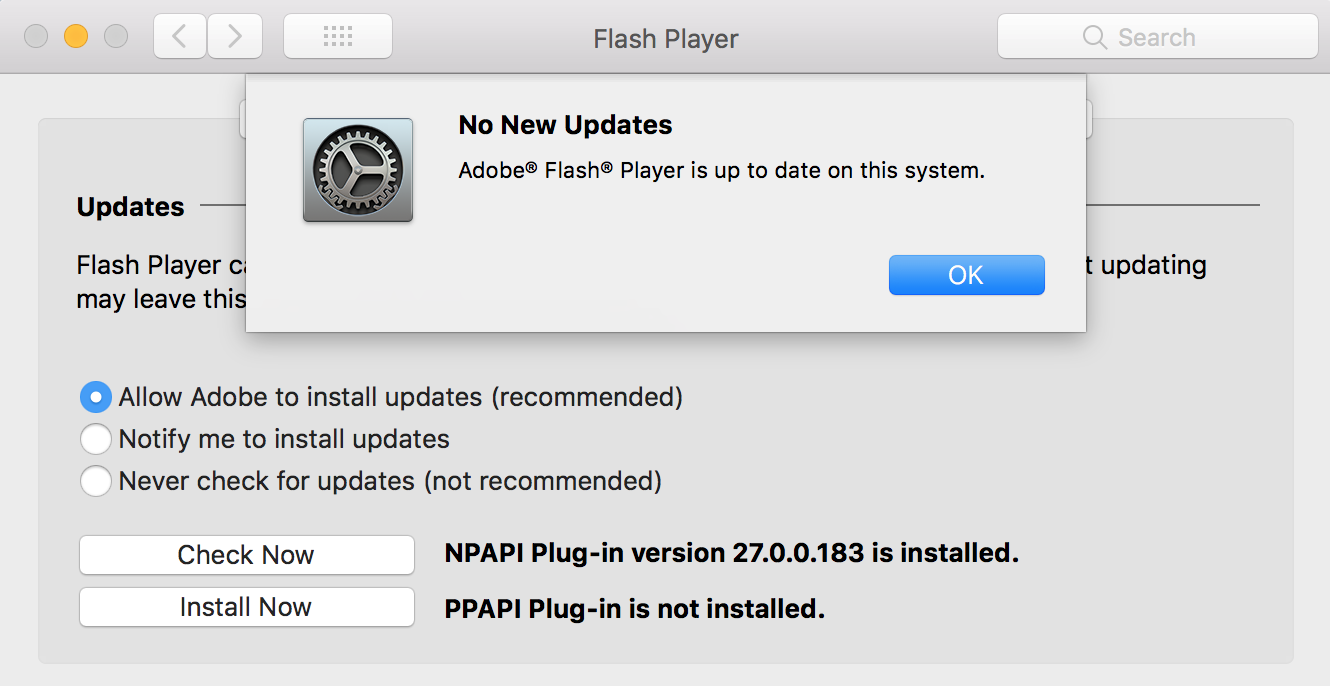 Image result for How to update Flash on your Mac (if it's already installed)