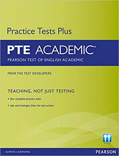 PTE book - Practice tests plus