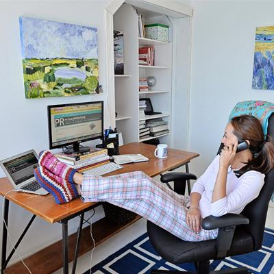 pros and cons of working from home, telecommuting, telecommuter, remote work