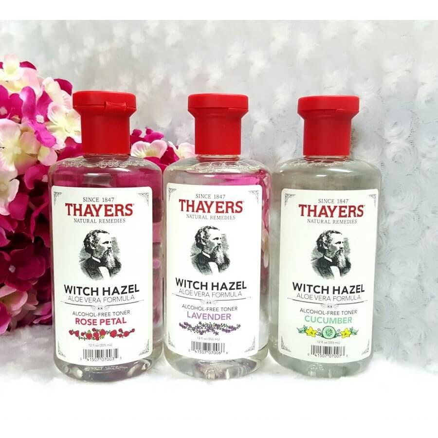 Toner Thayer Peach được chiết xuất từ trái đào tươi