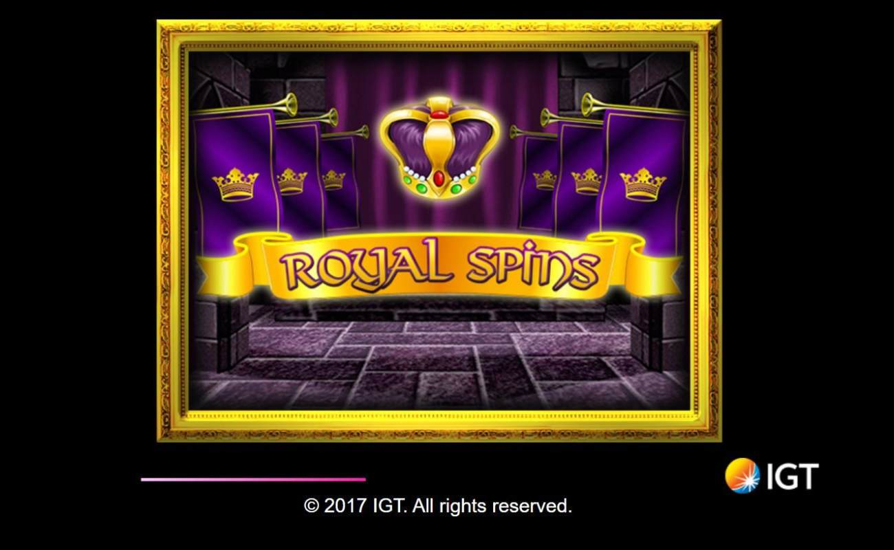 Royal Spins by IGT online slot casino game