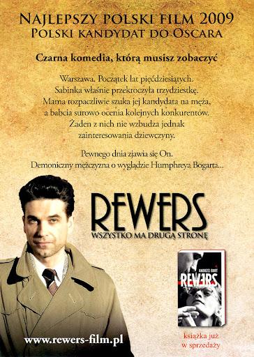 Tył ulotki filmu 'Rewers'
