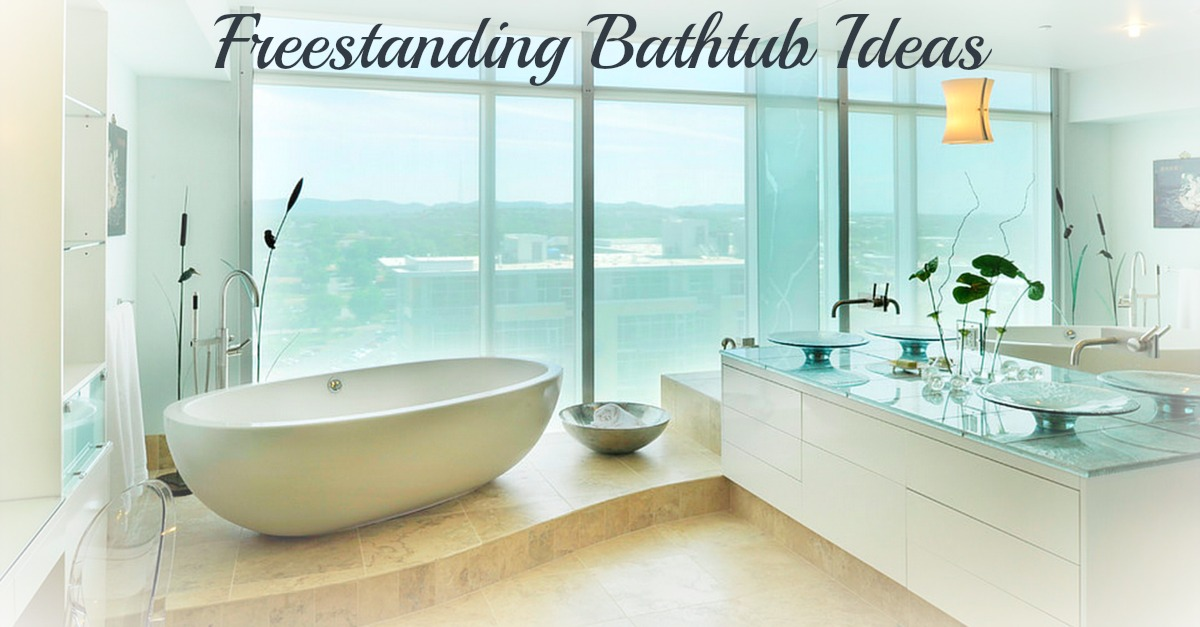 20 Freestanding Bathtubs You\'ll Want to Soak In Right Now