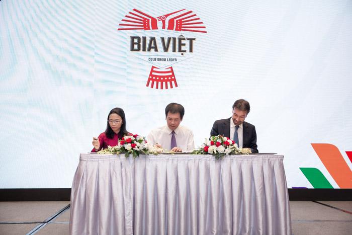 Bia Việt ký thỏa thuận tài trợ SEA Games 31 và ASEAN PARA Games 11