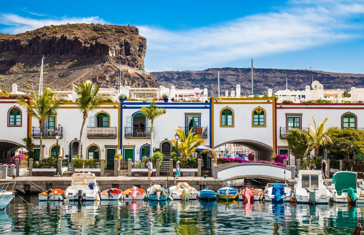 Casas de Colores en Canarias