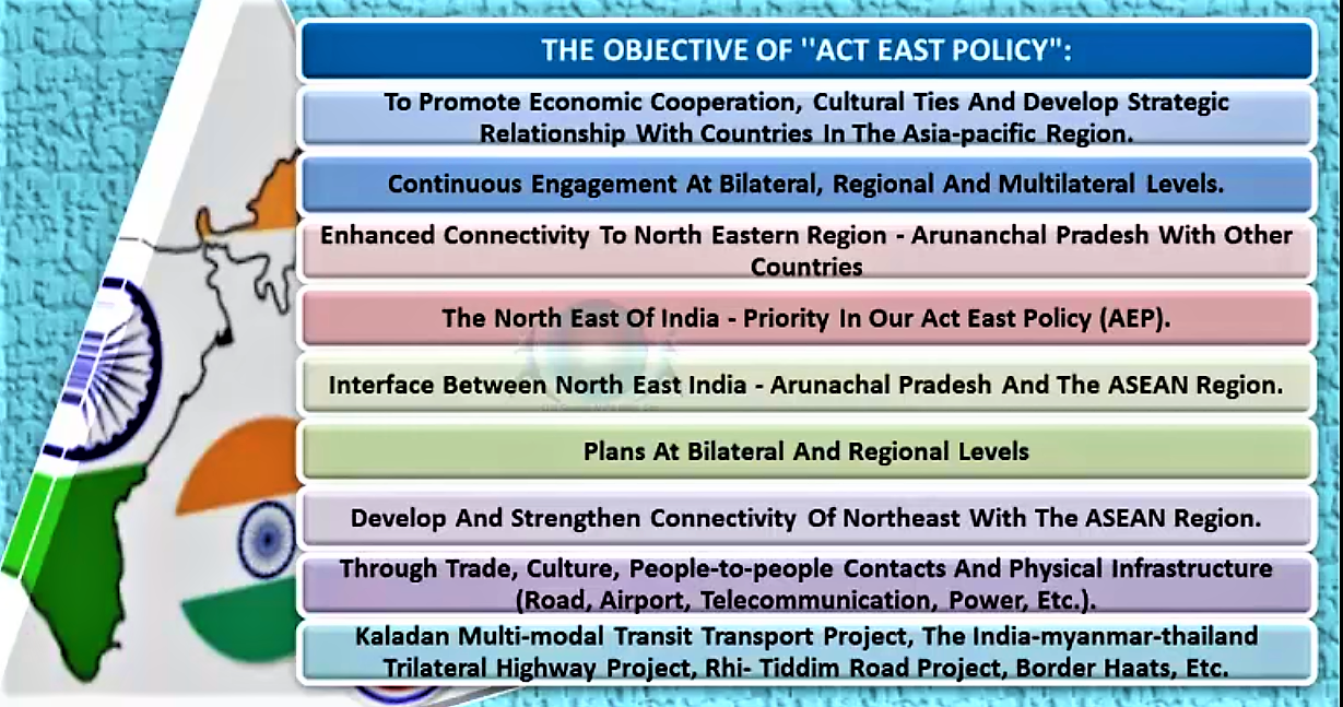Image result for 'Act East policy'