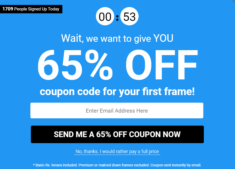 intent Coupon code ideas