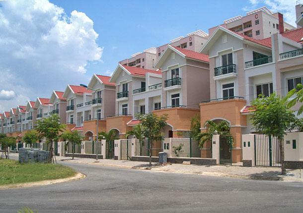 Khu nhà liền kề Dương Nội