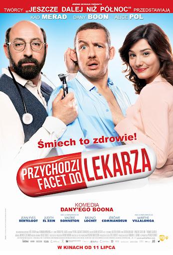 Polski plakat filmu 'Przychodzi Facet Do Lekarza'