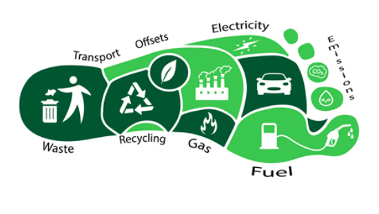 Food sustainability footprint example