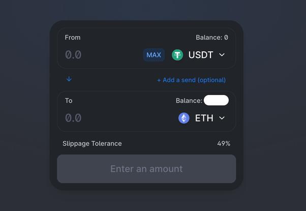 how to trade on uniswap