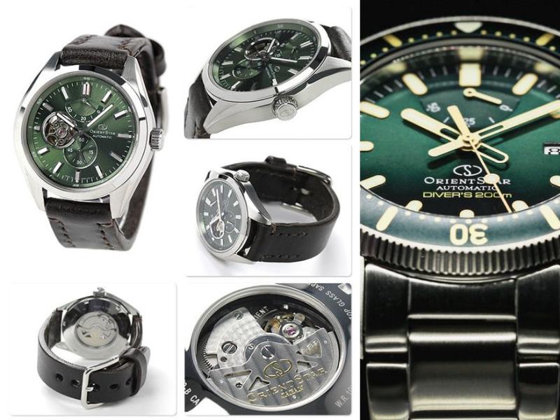 Thiết kế cầu kỳ, nịnh mắt của Orient Star là một yếu tốt rất lớn tạo nên sự thành công của dòng đồng hồ này