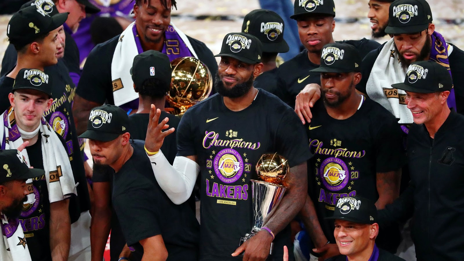 Lakers Win Their 17th NBA Championship, Beating The Miami Heat In Game 6,  106-93