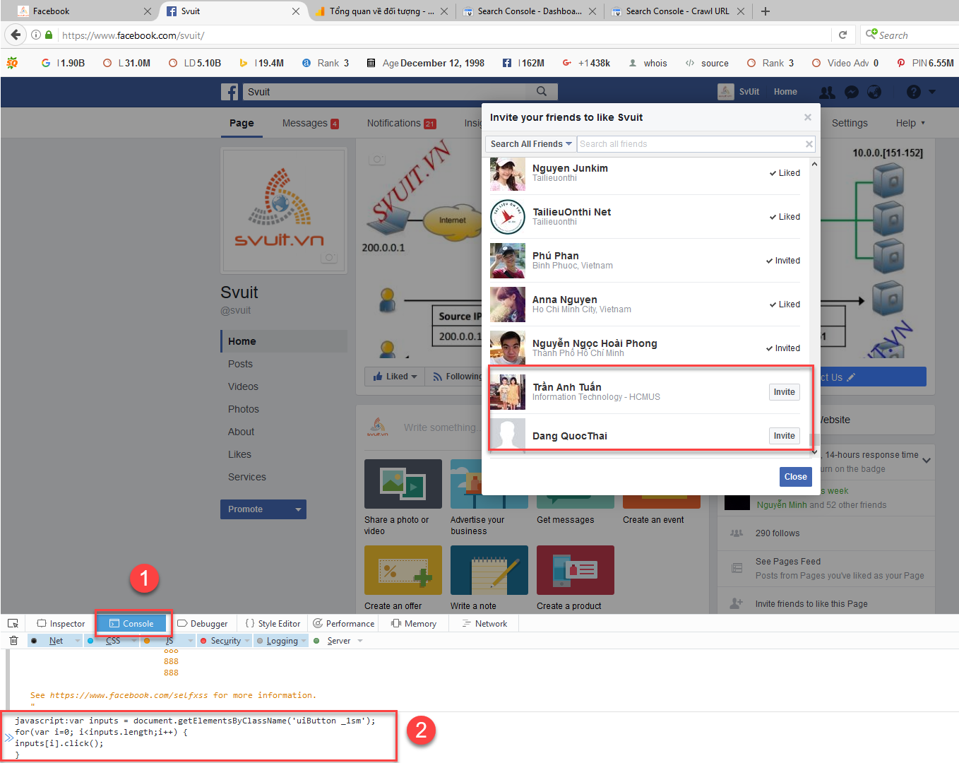 Auto Invite All Friends For Page Like(2)