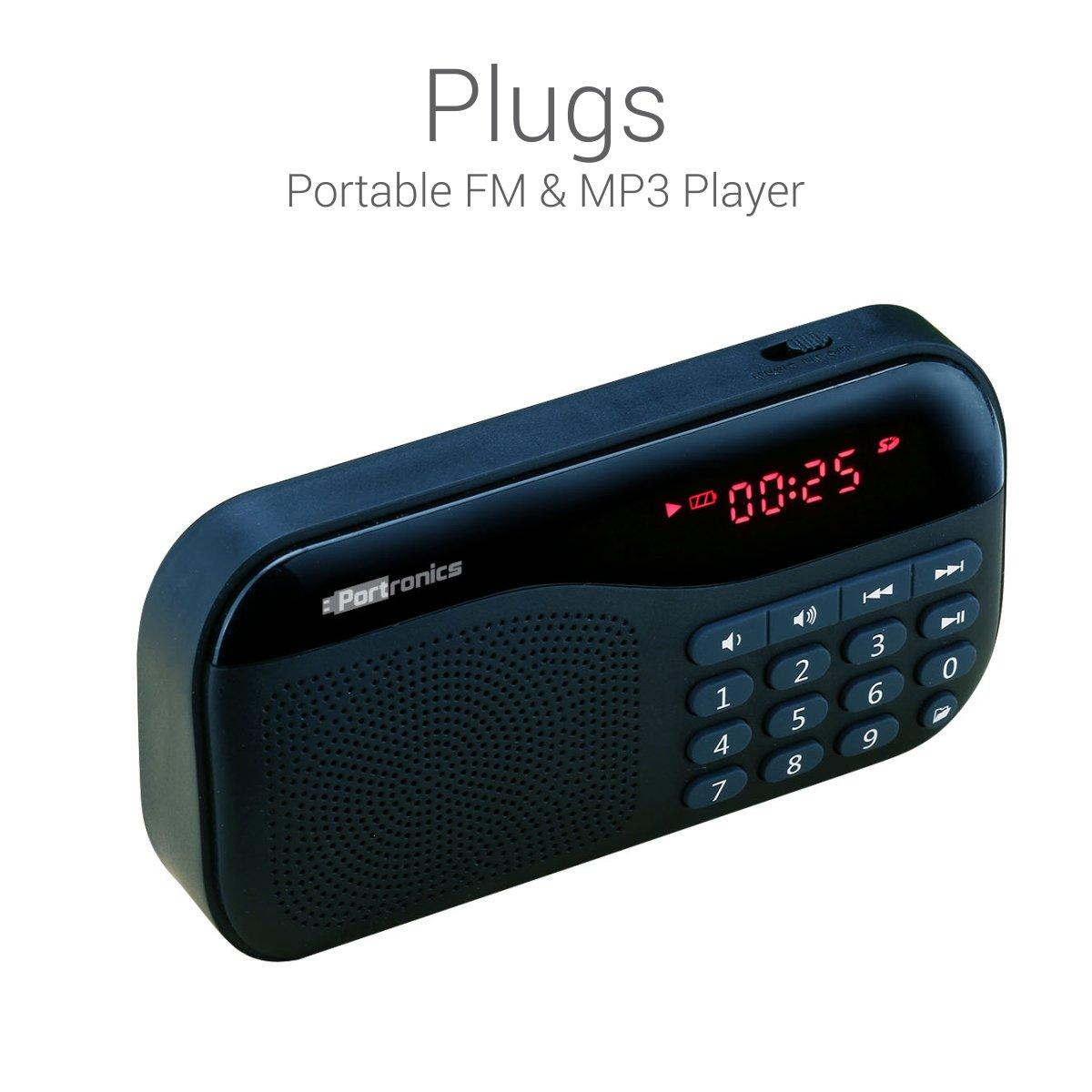 Portronics Plugs Portable POR-141 Speaker