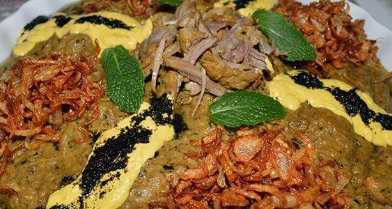 طرز تهیه حلیم بادمجان اصفهان به همراه ارزش غذایی این غذای مقوی