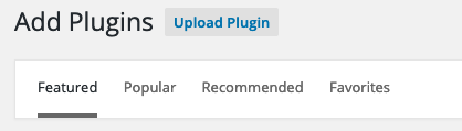 Uploading Plugin