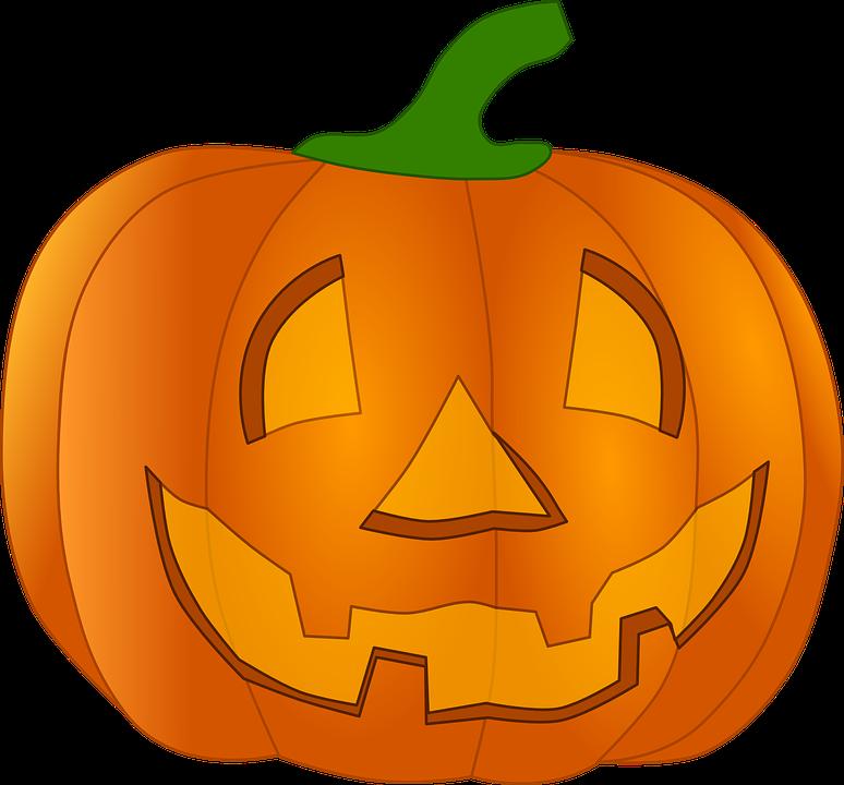 Halloween, Fruit, Lantern ...