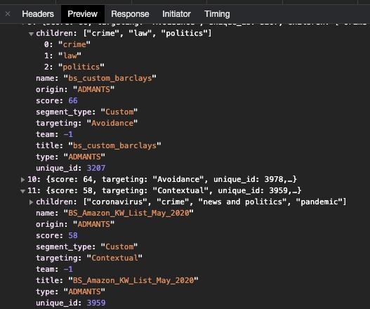 Screenshot of Chrome Developer Tools console logs on www.thetimes.co.uk