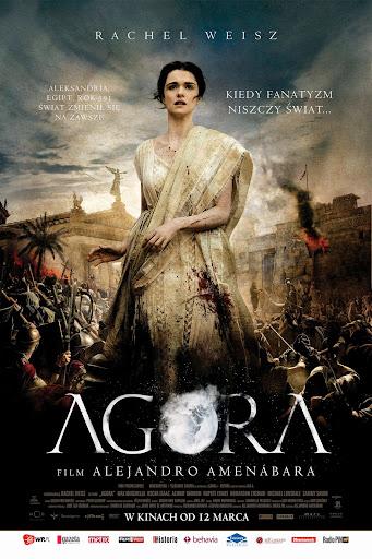 Polski plakat filmu 'Agora'